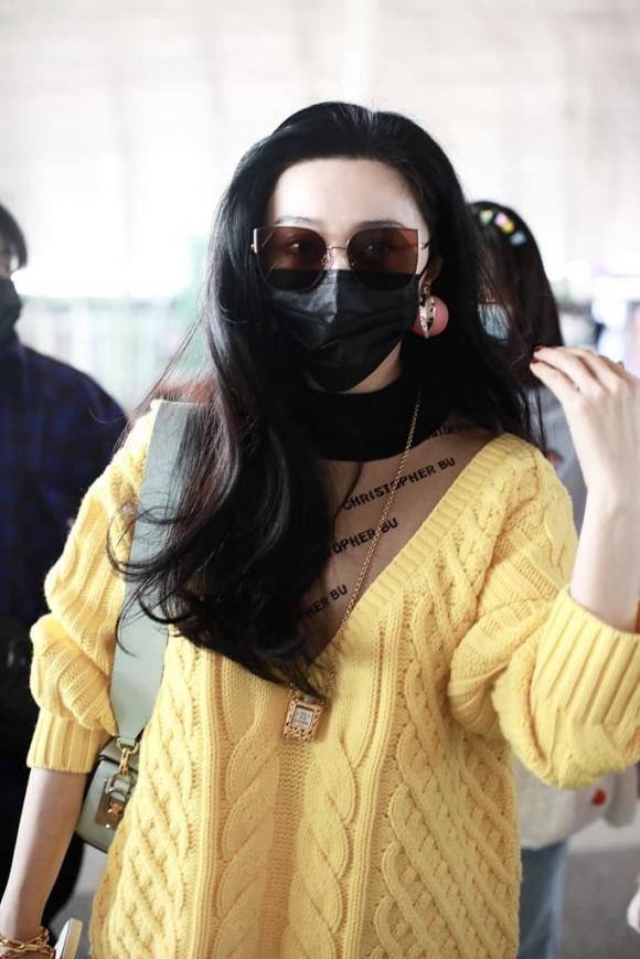 phạm băng băng, thời trang sân bay, trang sức, sao hoa ngữ