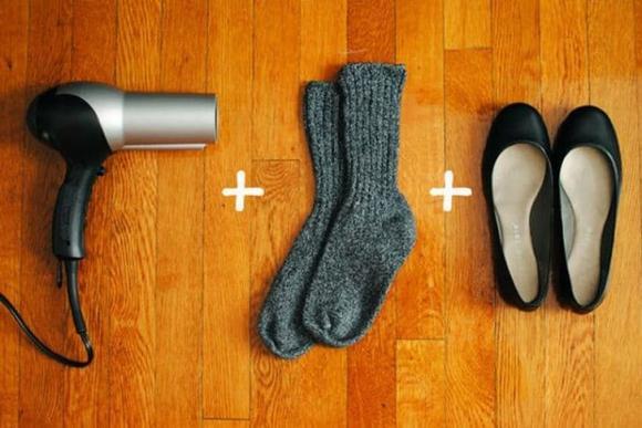 bảo quản quần áo, mẹo giữ gìn quần áo, cách vệ sinh giày dép