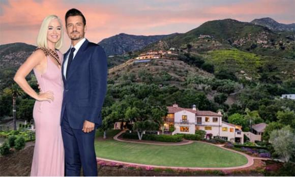 Orlando Bloom, Katy Perry, biệt thự của sao