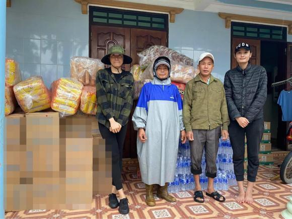 Lê Thúy, người mẫu Lê Thúy, sao Việt từ thiện