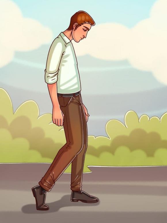đoán tính cách, tính cách của bản thân, tính cách qua cách bước đi