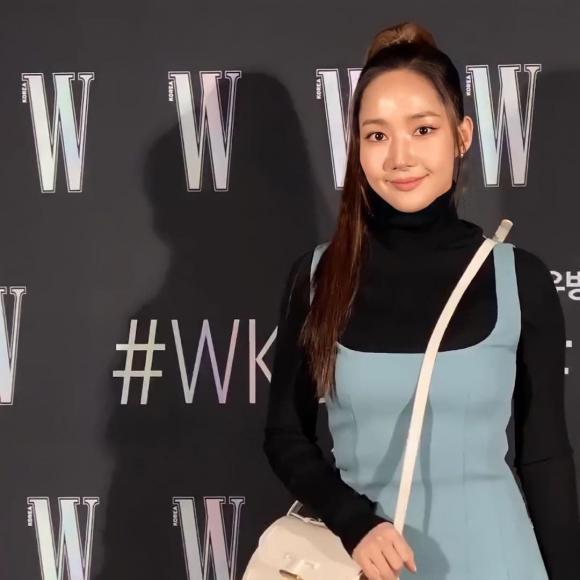 Thư kí Kim Park Min Young gây xôn xao với gương mặt sưng phù, thân hình phát tướng