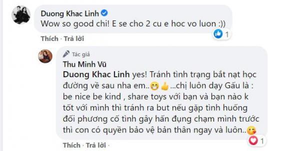 Thu Minh, con trai Thu Minh sao Việt