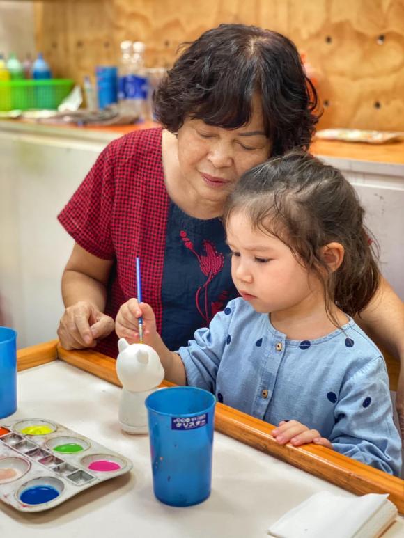 Hà Anh, siêu mẫu Hà Anh, mẹ Hà Anh, sao Việt