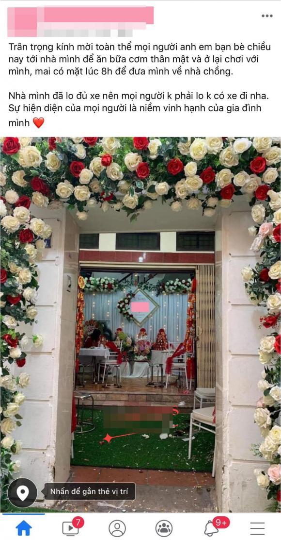 đi đám cưới, mời đám cưới, mời đám cưới qua facebook