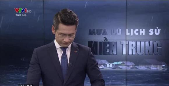 MC Tuấn Dương, mưa lũ miền Trung, VTV