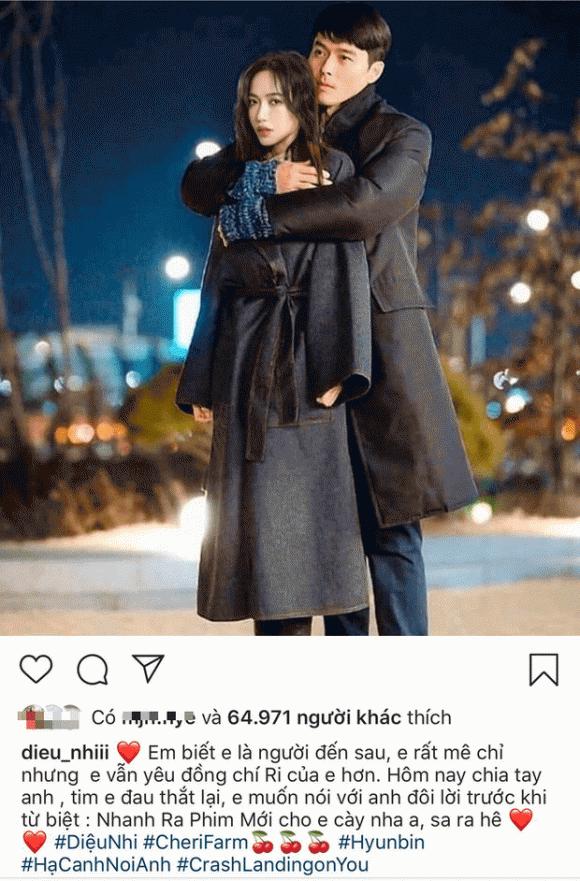 diễn viên Diệu Nhi, diễn viên Lee Dong Wook, sao Việt
