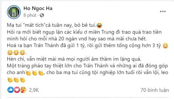 Hồ Ngọc Hà, mẹ Hồ Ngọc Hà, ba Hồ Ngọc Hà, sao Việt