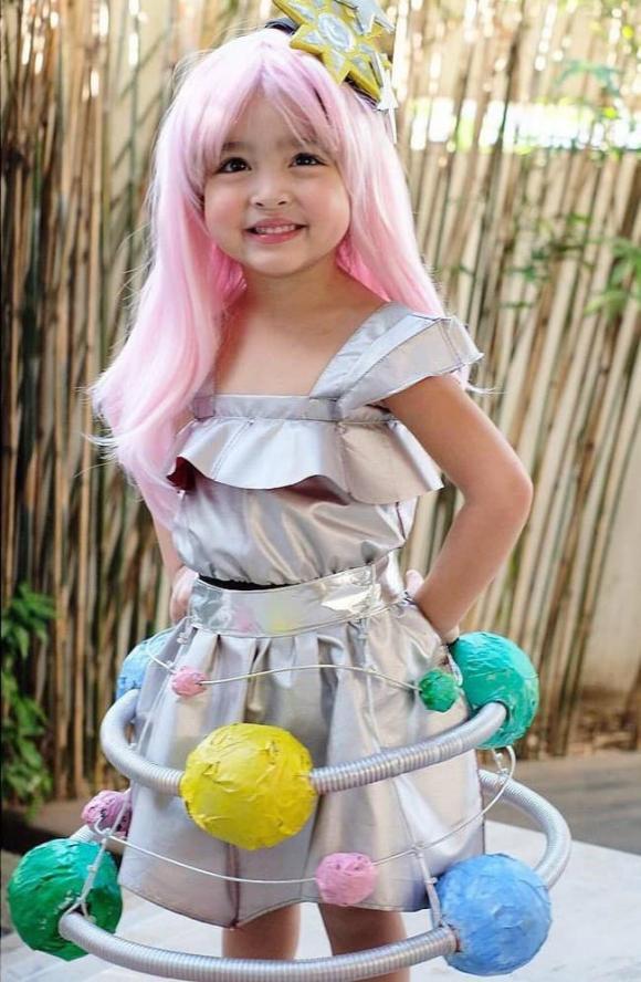 bé zia, con gái marian rivera, mỹ nhân đẹp nhất philippines