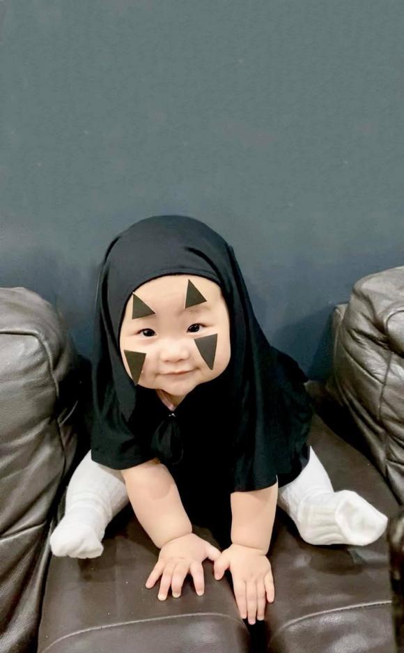Halloween 2020, hóa trang Halloween cho con, cháu gái Trấn Thành