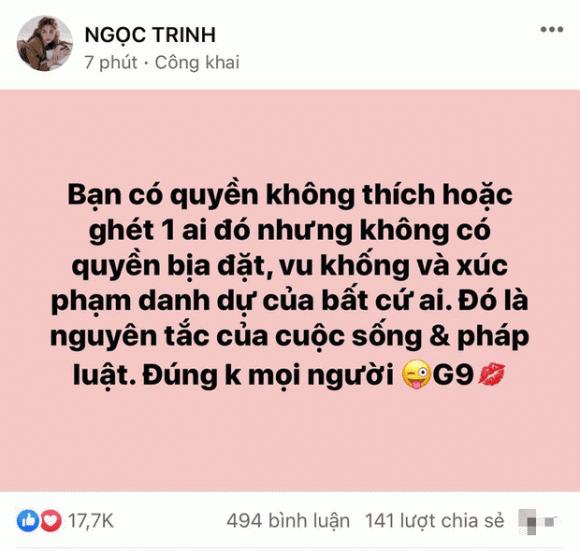 Ngọc Trinh, Hương Giang, sao Việt