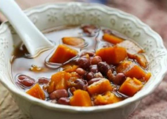bí đỏ, đậu đỏ, món ngon mỗi ngày