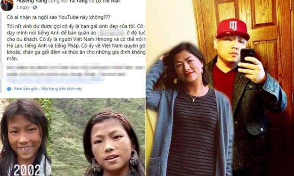 Lò Thị Mai, ô gái H'Mông nói tiếng Anh như gió, bạn trai của Lò Thị Mai