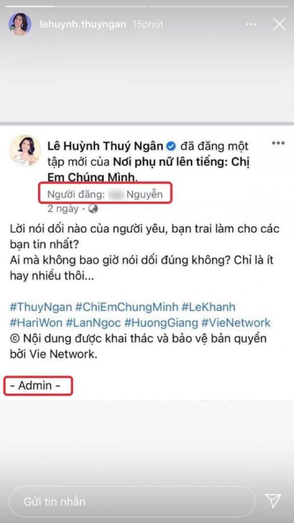 diễn viên Thuý Ngân, hoa hậu Hương Giang, sao Việt