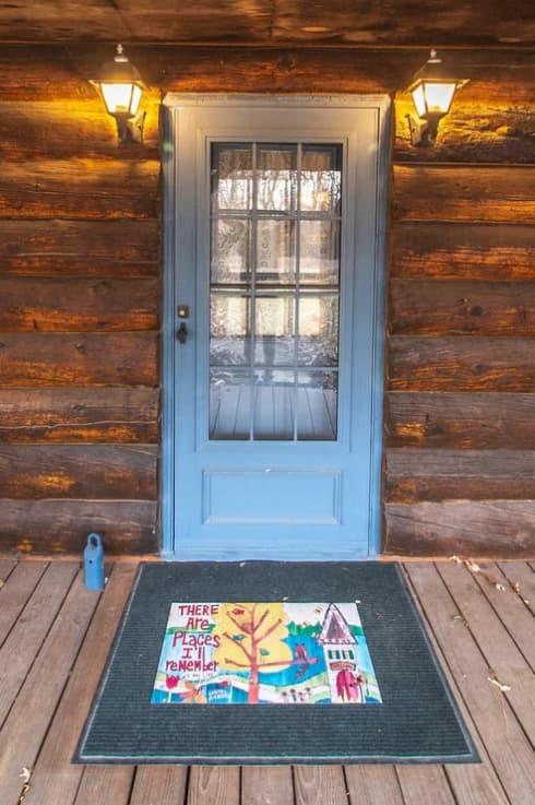 thảm nên đặt trước hay sau cửa, thảm trải sàn