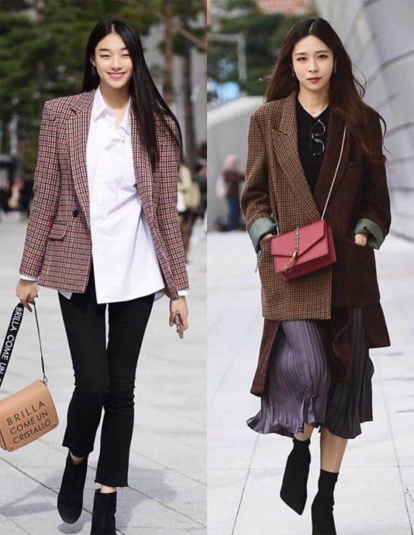 thời trang hàn, thời trang thu, thời trang
