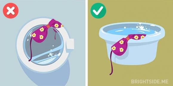 giặt đồ, sai lầm khi giặt đồ, kiến thức