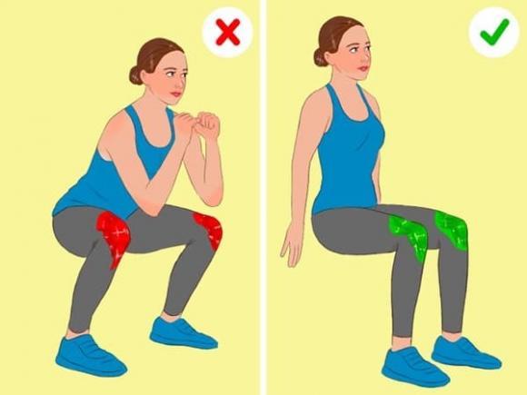 bài tập thể dục, bài tập giảm đau đầu gối