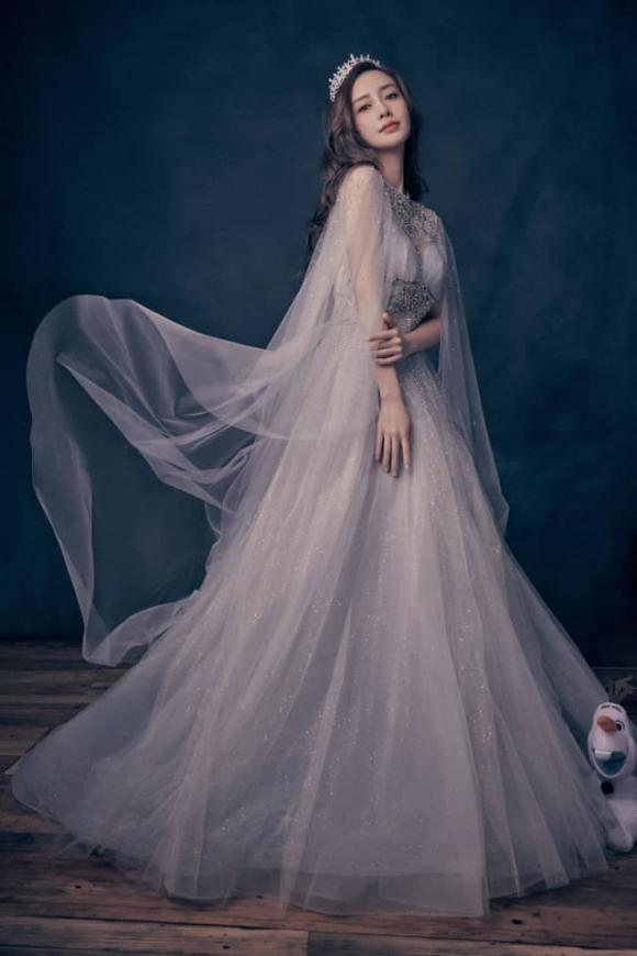 mỹ nhân cbiz, mỹ nhân hoa ngữ tạo hình công chúa, triệu lệ dĩnh