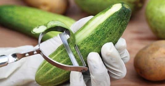 thực phẩm an toàn, rau củ quả nên ăn cả vỏ, chăm sóc sức khỏe đúng cách