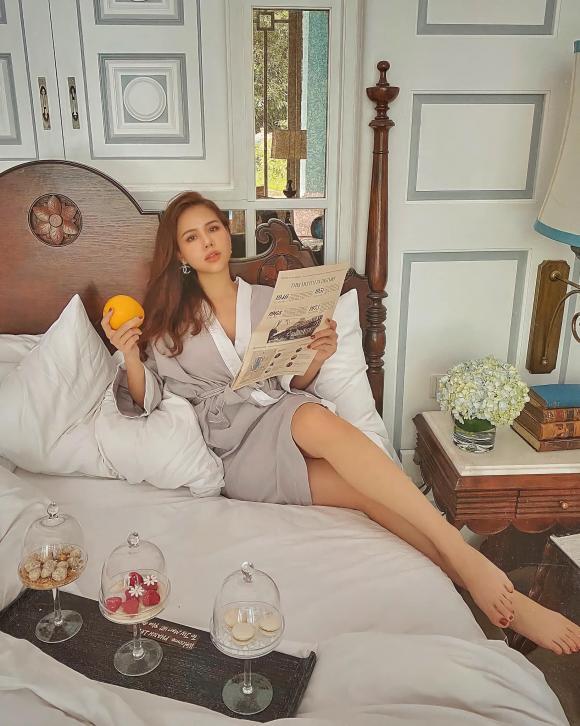 Phanh Lee tiết lộ cuộc sống nhàn hạ sau khi lấy đại gia nghìn tỷ: 'Chỉ việc cắm hoa và ăn cơm thôi'