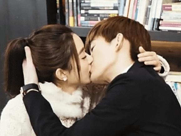 cảnh hôn,quay cảnh hôn