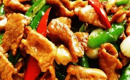 món ngon mỗi ngày, thịt lợn xào ớt xanh, ẩm thực gia đình