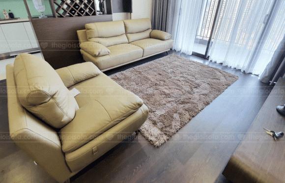 Thế giới sofa, sofa da thật