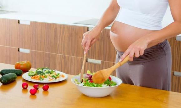 chăm sóc thai nhi, sức khỏe thai nhi, bà bầu, món ăn tốt cho thai nhi