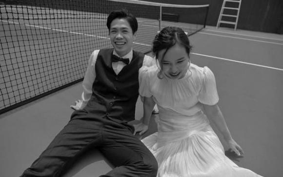 Hé lộ ảnh cưới ngập tràn hạnh phúc của Công Phượng và Viên Minh