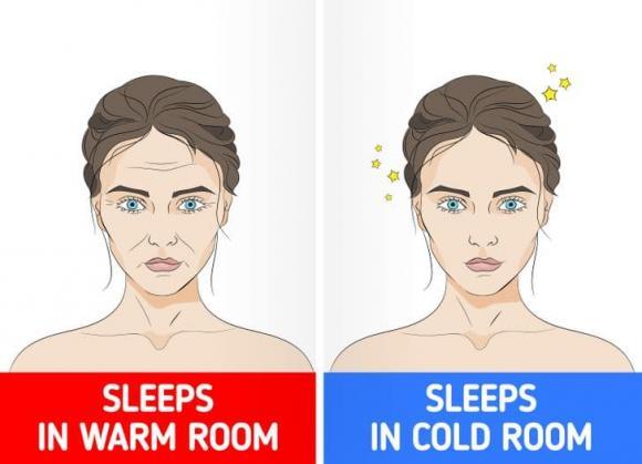 ngủ trong phòng lạnh, ngủ tốt cho sức khỏe, sức khỏe