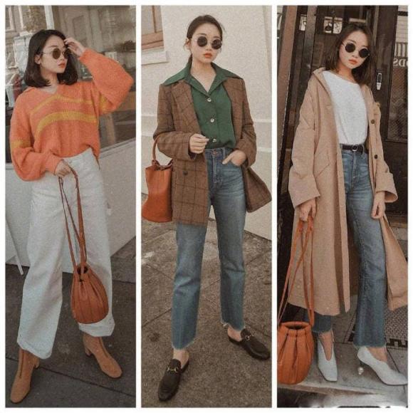 phong cách retro, thời trang thu đông, xu hướng thời trang