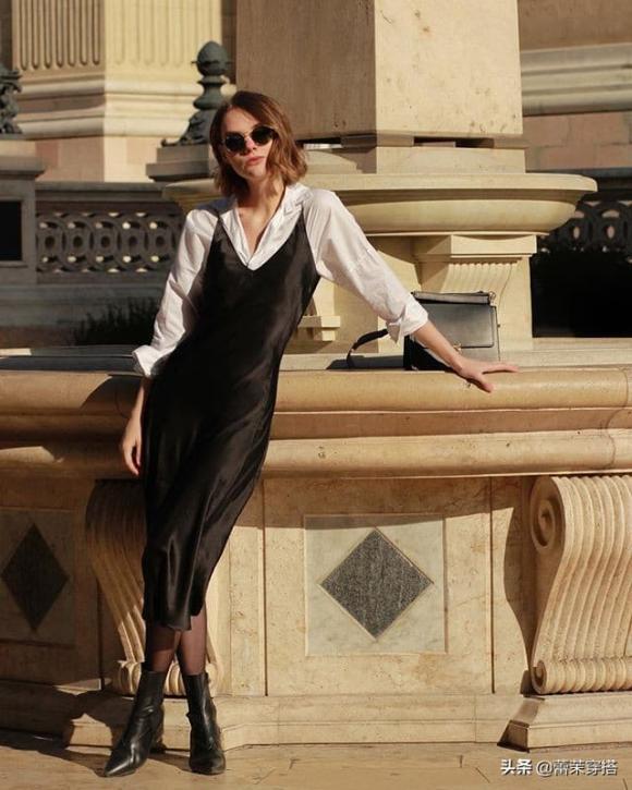 áo sơ mi, váy dây, xu hướng thời trang thu 2020