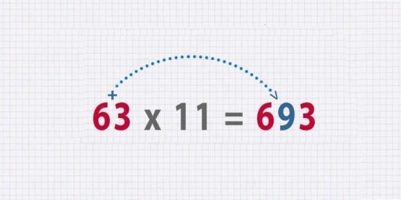 mẹo tính nhanh, phép tính nhanh, làm toán