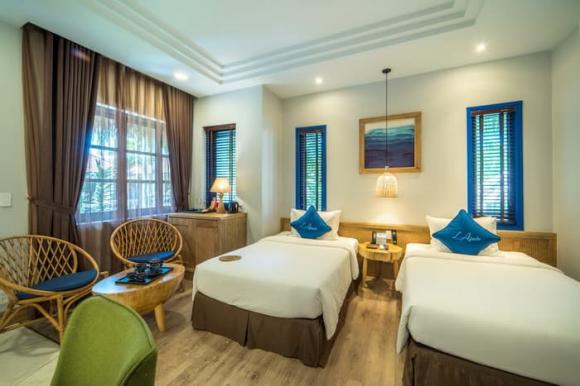 L'Azure Resort and Spa Phu Quoc: Nhà chung đẳng cấp 5 sao của Cầu thủ nhí 2020