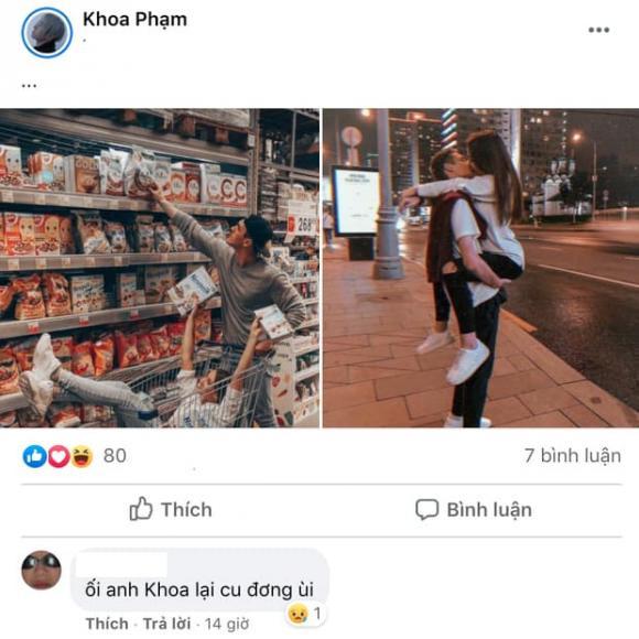 Karik, bạn gái Karik, sao Việt