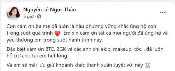 Hoa hậu Đỗ Thị Hà, Á hậu Phương Anh, Á hậu Ngọc Thảo