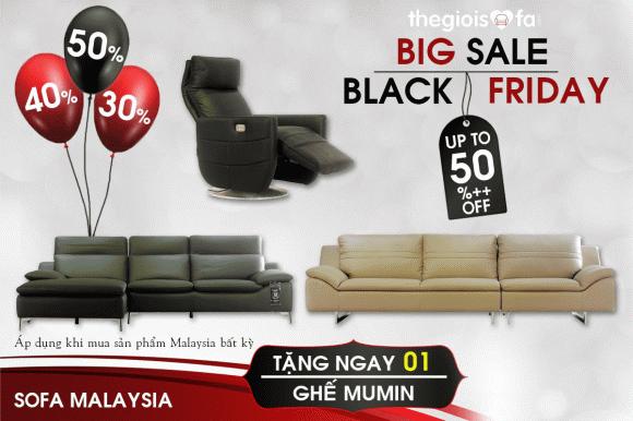 Black Friday, Thế giới sofa, sofa đẹp