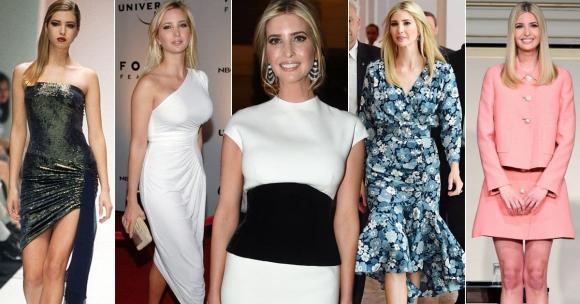 ivanka trump, con gái obama, thời trang ivanka trump