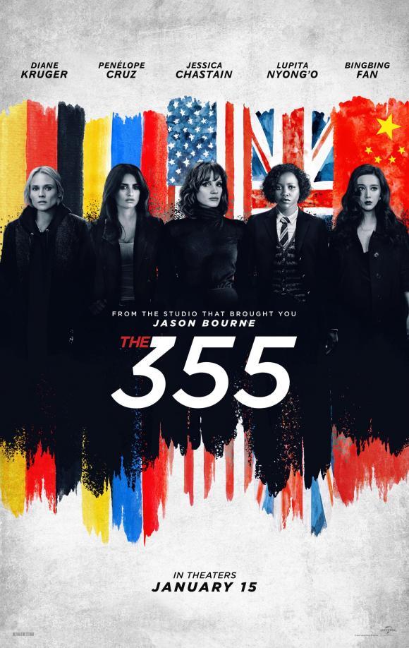 phạm băng băng, the 355, phim hollywood