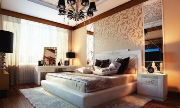 giường ngủ, phong thuỷ, phòng ngủ