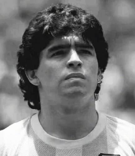 nhồi máu cơ tim, Maradona
