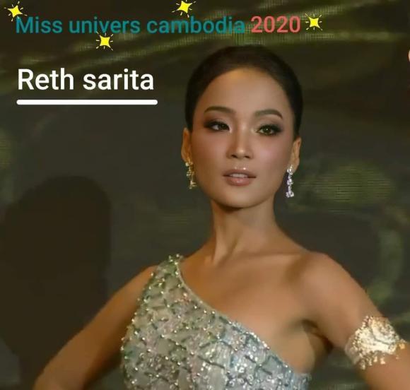 Hoa hậu Hoàn vũ Campuchia 2020, Hoa hậu Hoàn vũ, Sarita Reth,