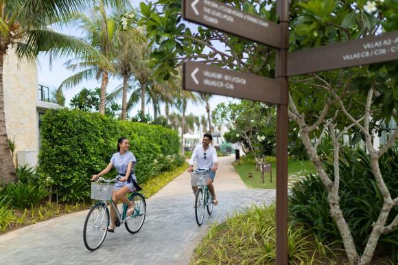 Thiên đường xanh, Meliá Hồ Tràm, Biển Hồ Tràm