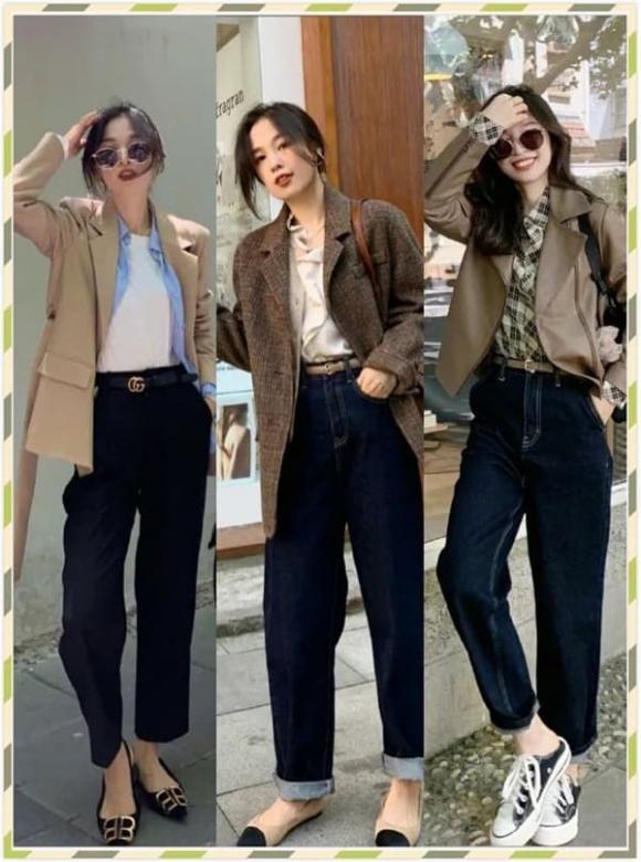 phối đồ đẹp, cách phối đồ cho cô nàng thấp bé, thời trang thu đông năm 2020