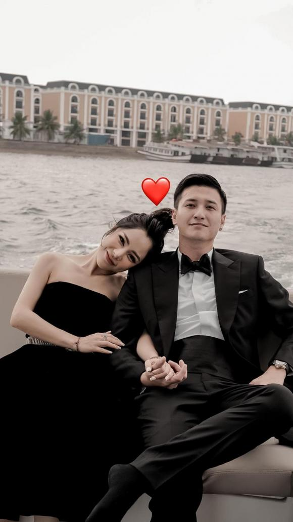Bạch Lan Phương, Huỳnh Anh, bạn gái Huỳnh Anh, sao Việt