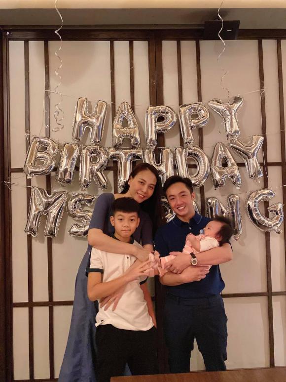 Đàm Thu Trang, Cường Đôla, Subeo, sinh nhật, sao việt