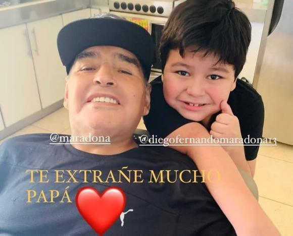Cậu bé vàng, Maradona, đoạn ghi âm