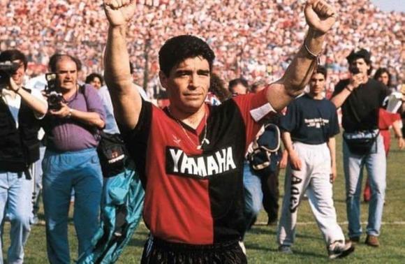 Maradona, Messi, Barca