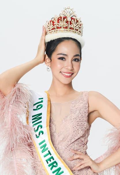 Á hậu Tường San, đám cưới của Tường San, Hoa hậu Quốc tế 2019